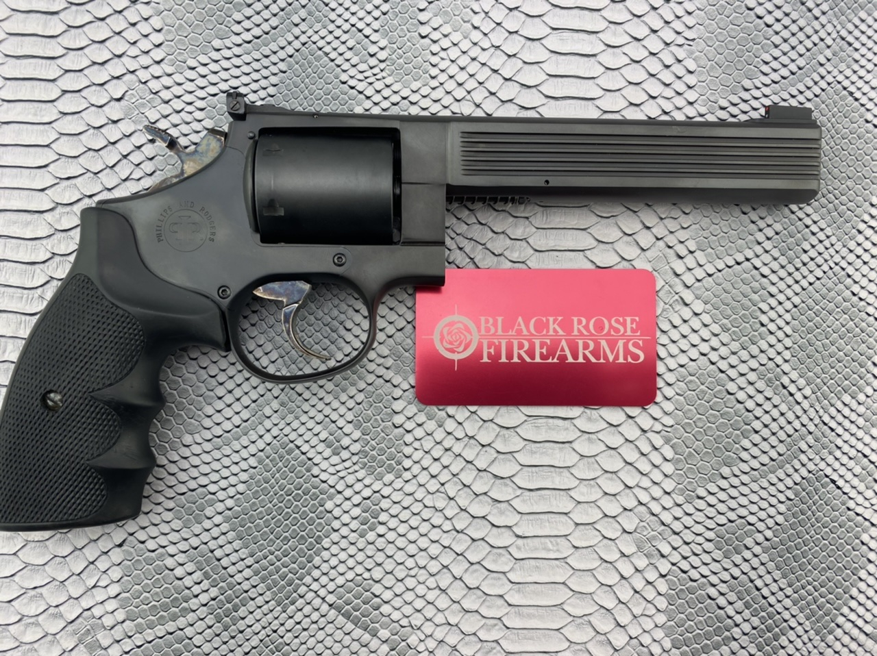 Black Rose Firearms Phillip And Rodgers M47 Medusa Revolver Shoot Over 100 Calibers