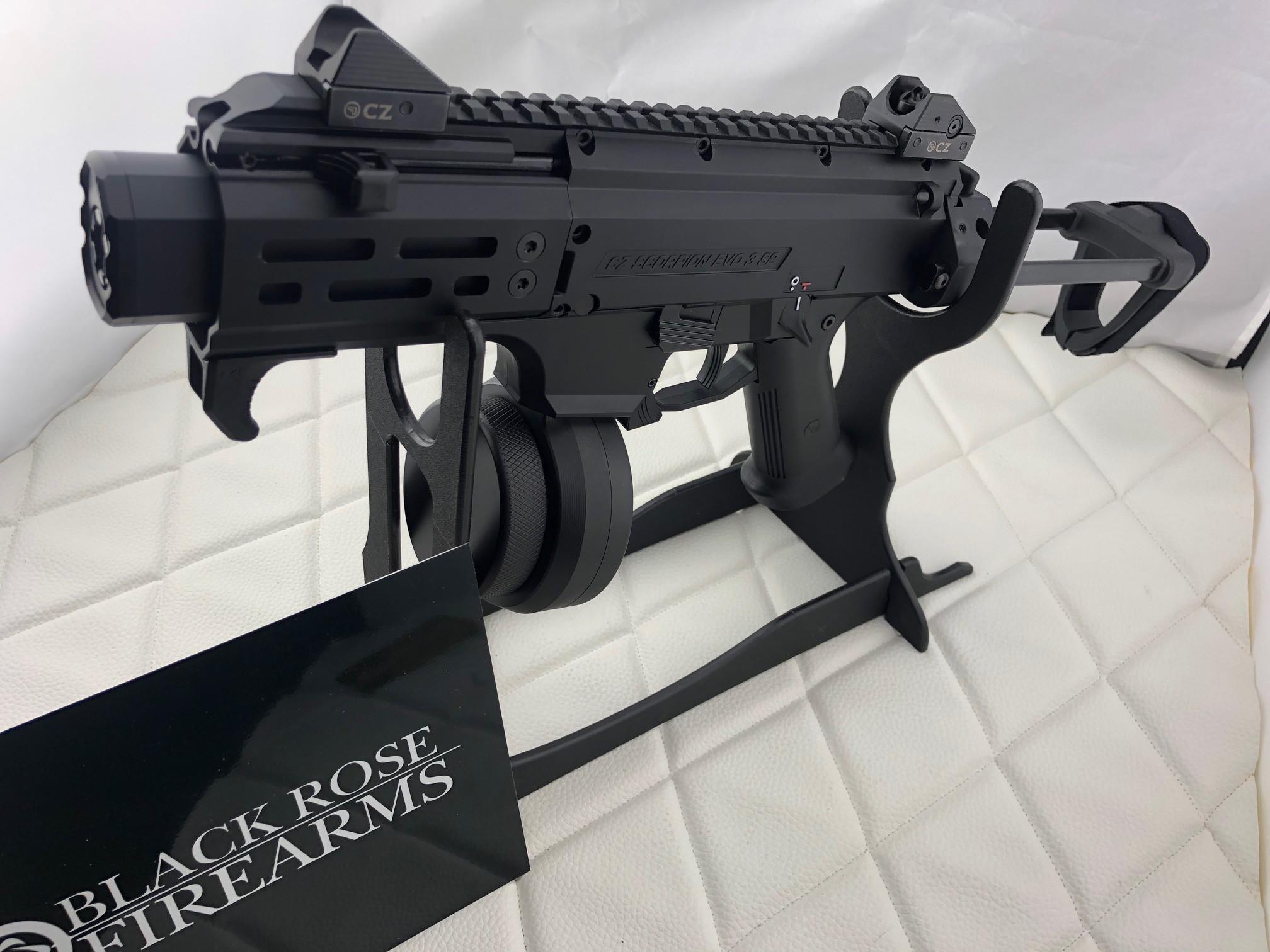 Black Rose Firearms| CZ SCORPION MICRO 9MM WITH ARM BRACE