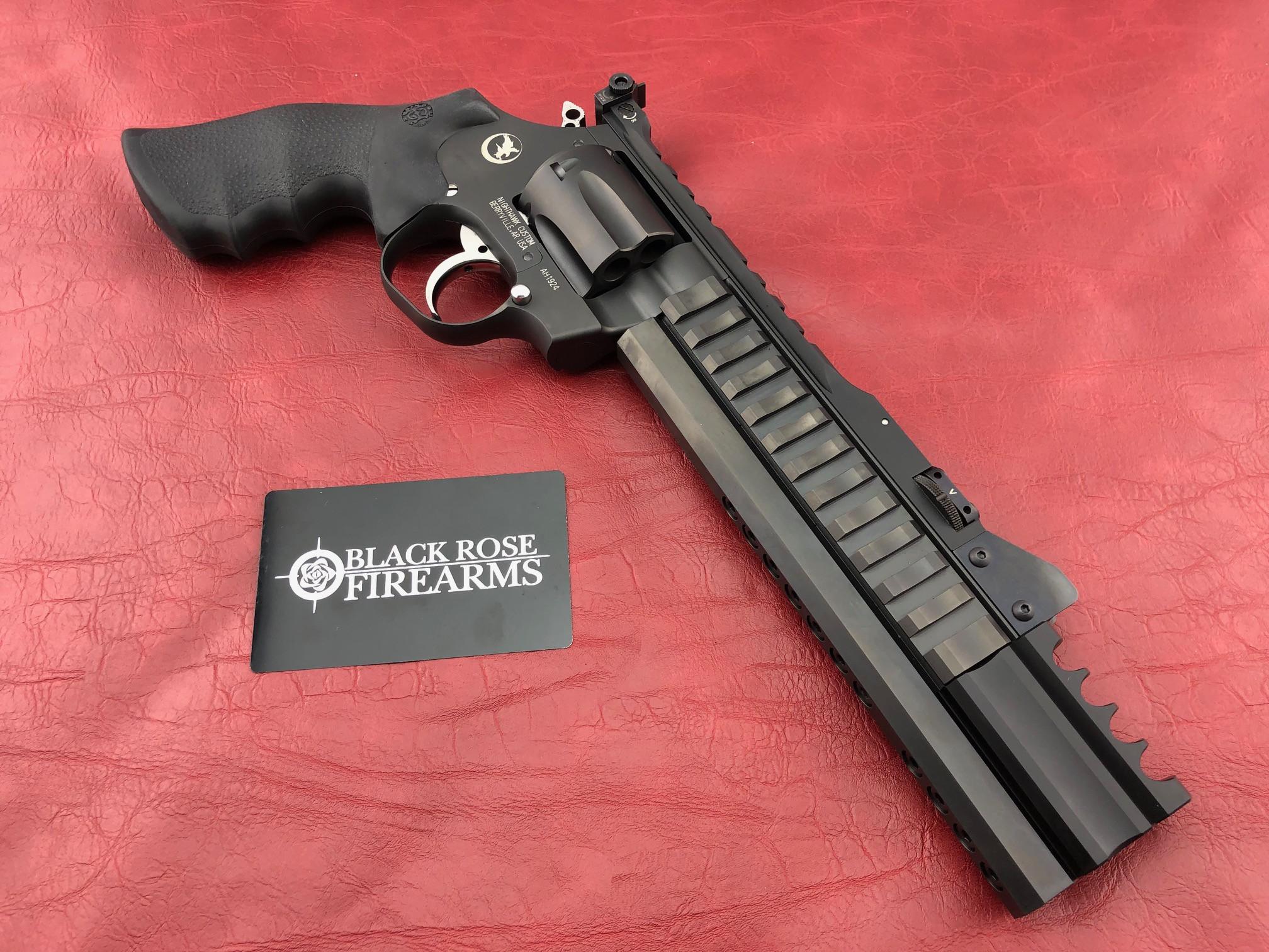 Korth Super Sport  357 Revolver with 9mm cylinder & Kompensator